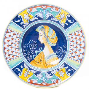 Декоративная тарелка с антикварным дизайном Museo Plate