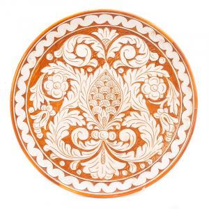 Тарелка декоративная большая Scalfito