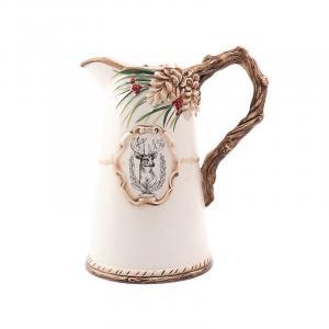 """Кувшин керамический с эмблемой """"Лесной мороз"""""""