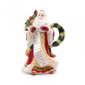 """Кувшин Санта со списком """"Семейные традиции"""""""