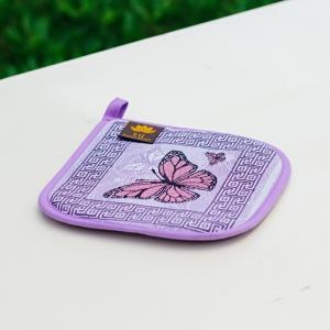 """Прихватка """"Фиолетовая бабочка"""""""