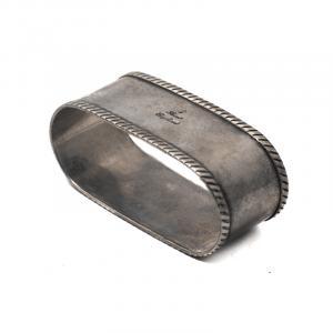 Держатель для салфеток серебряный