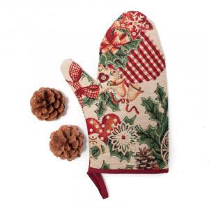 """Прихватка рукавичка """"Новогодняя феерия"""" Villa Grazia Premium"""