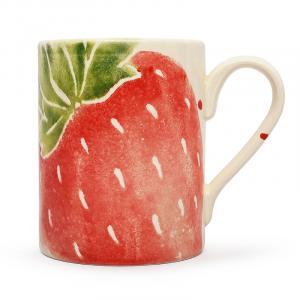 """Чашка чайная с акварельным рисунком """"Фруктовый коктейль"""""""