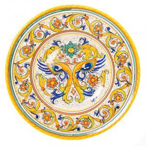 Тарелка настенная круглая Raffaellesco