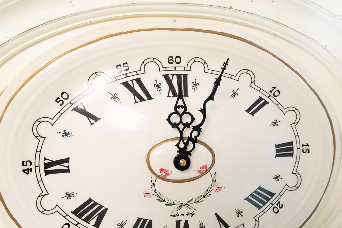 04cef971 Часы настенные овальные белые. 3845-B. Часы в Киеве и Украине