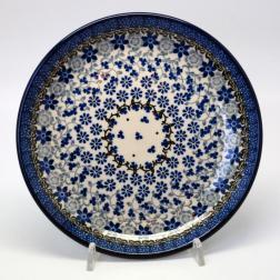 Тарелка десертная с цветочным орнаментом