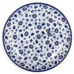 Тарелка мелкая керамическая