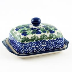 Масленка керамическая с крышкой