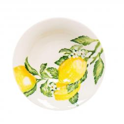 Салатник керамический с ярким рисунком