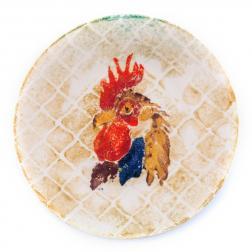 Тарелка с петушком