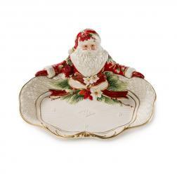 Блюдо с Дедом Морозом