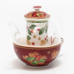 Заварник и чашка для чая