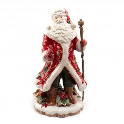 Статуэтка Дед Мороз с птичкой
