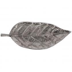 Алюминиевое блюдо-листок продолговатой формы Gros