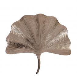 Блюдо в виде листка Гинкго с рифленой поверхностью Gros