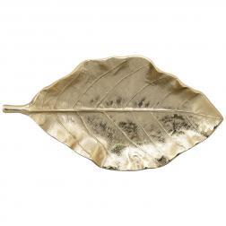 Блюдо в форме листа большое декоративное Gros