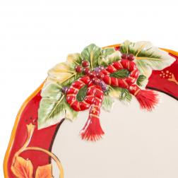 Тарелка рождественская
