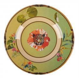 Тарелка десертная из меламина с рисунком Ete Savage