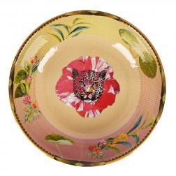 Меламиновый салатник с животно-цветочным принтом Ete Savage