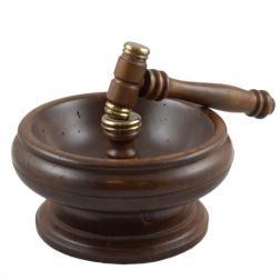 Орешница деревянная с молоточком для колки Capanni