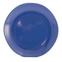 Тарелки обеденные синие, набор 6 шт. Ritmo