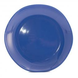 Тарелка десертная синяя Ritmo