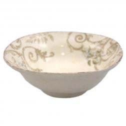 Тарелка суповая глубокая из керамики