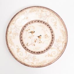 Блюдо круглое большое