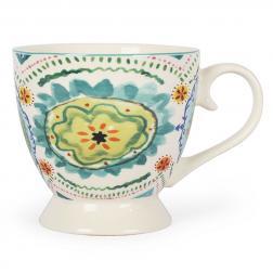 Чашка чайная фарфоровая с рисунком Samba Rio de Janeiro