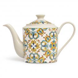 Чайник из фарфора с ярким византийским орнаментом Medicea