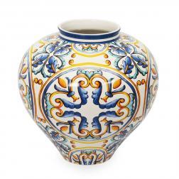 Ваза из высокопрочной керамики с восточным узором Medicea