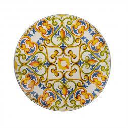 Блюдо круглое с орнаментом в стиле Ренессанса Medicea