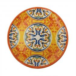 Обеденная тарелка из меламина с орнаментом Medicea