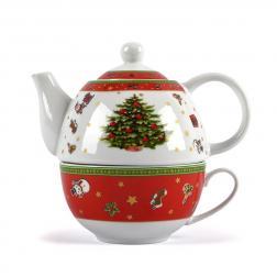 Чайный набор из чашки и заварника Felicity Maison