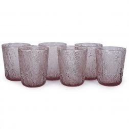 Набор из 6-ти стаканов нежно-розового цвета Montego