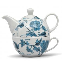 Чайный набор из чашки и заварника