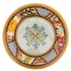 Этничная обеденная тарелка из меламина Santa Rosalia