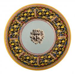 Тарелка десертная из меламина с узором Santa Rosalia