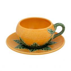 Набор чашек с блюдцами Апельсин, 6 шт.