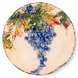Тарелка салатная с красочным рисунком