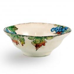 Тарелка суповая с фруктовым орнаментом