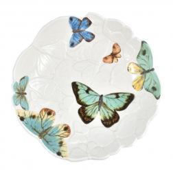 Блюдо Fitz and Floyd Butterfly fields 24 см