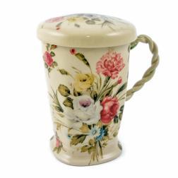 Чашка заварная с крышкой и фильтром