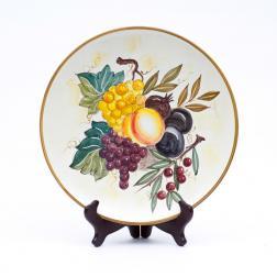 Тарелка настенная Frutta di Campo