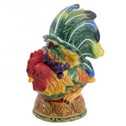 Шкатулка керамическая разноцветная
