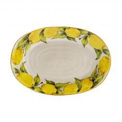 Блюдо овальное большое Лимоны