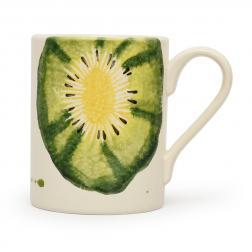 Чашка чайная с изображением киви