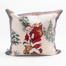 Декоративная наволочка «Рождественский сюрприз»