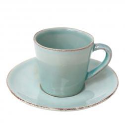 Чашки с блюдцем для кофе, набор 6 шт. Nova